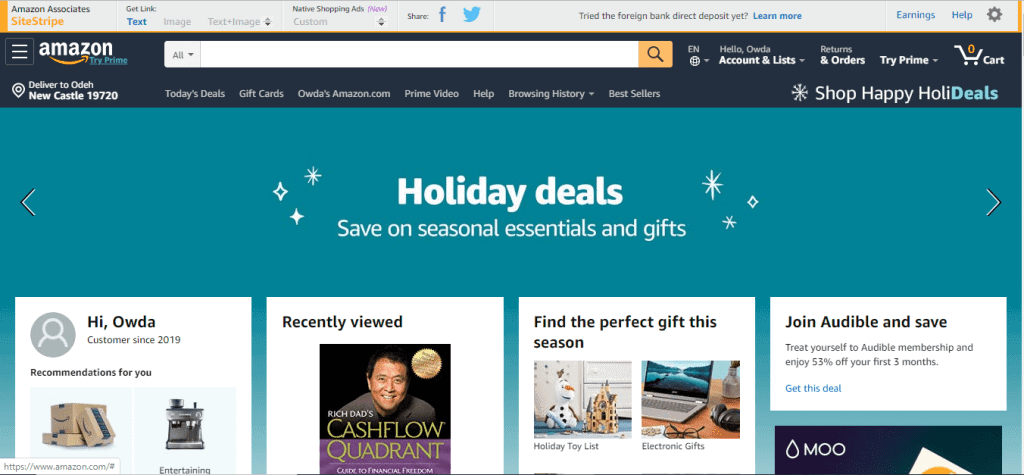 Amazon Holidays Deals