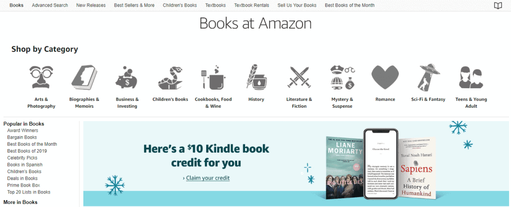 Books At Amazon