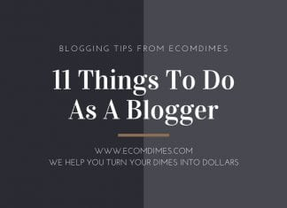 11 Things to do as a blogger