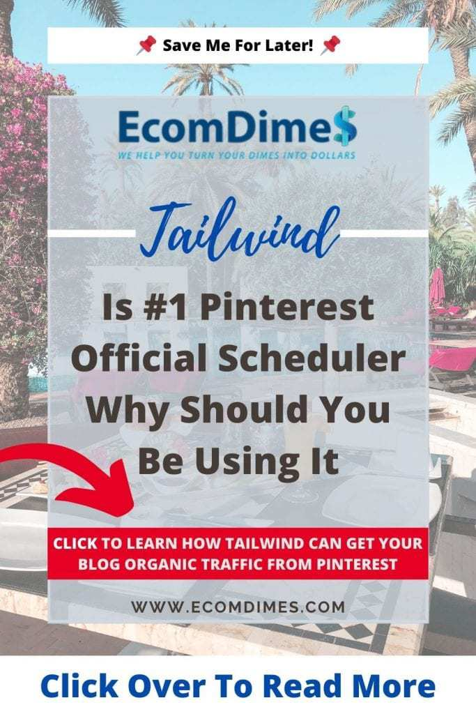 Now what is Tailwind?  Tailwind is a marketing toolkit, briefly a scheduler that was specifically created for Instagram and Pinterest. It is great for bloggers and online business owners, as it gives you an advantage over others in continuously reaching a targeted audience. Learn more about what tailwind is and how can you use it to drive more traffic to your website or blog.  #bloggingtips #bloggingforbeginners #tailwindapp #tailwindfortraffic #tailwindtraffic #tailwindtoolkit