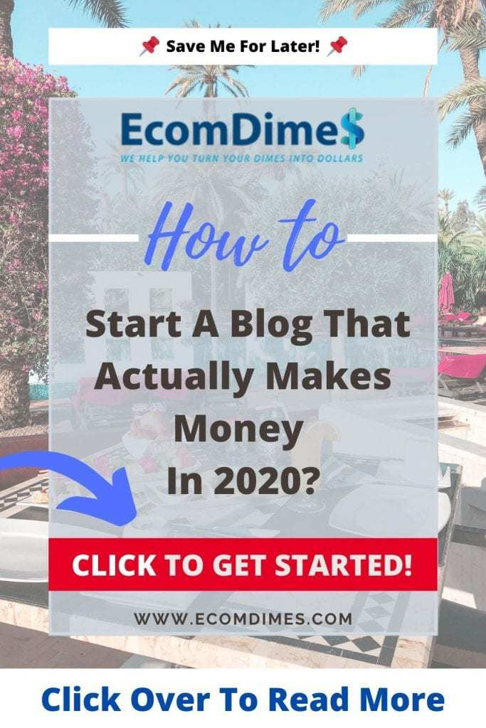 Starting a blog has never been easier nowadays. Exclusively for EcomDimes readers, you can start your blog today from as low as $2.75! Equivalent to a cup of latte from Starbucks! This article is a step by step guide for how to start a blog from scratch!  #blogging #bloggingtips #startablog #startblogging #bloggingincome #startyourblog #howtostartablog